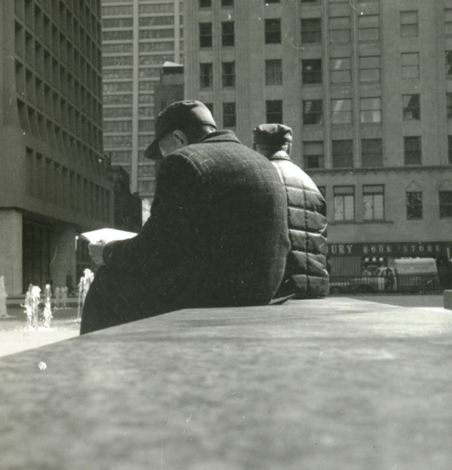 Daley Plaza, Spring 1973
