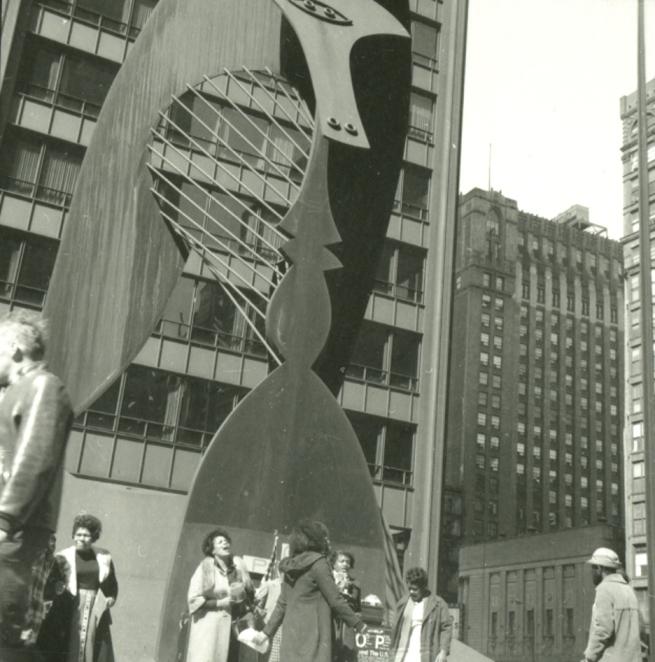 Jesus Saves, Daley Plaza, 1973
