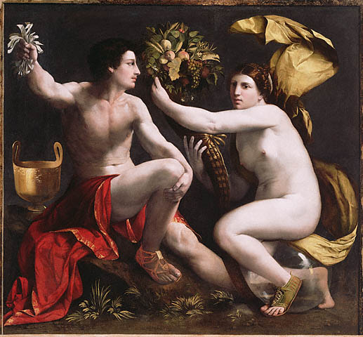 """allegory of fortune"" by dosso dossi--image courtesy the getty center"