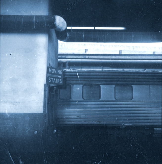 train station cyan