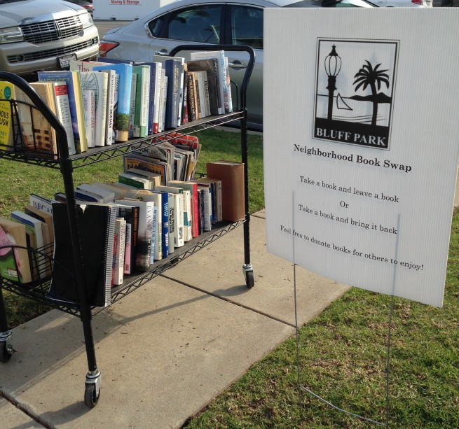 who wouldn't want to live in a neigborhood with a honor library?